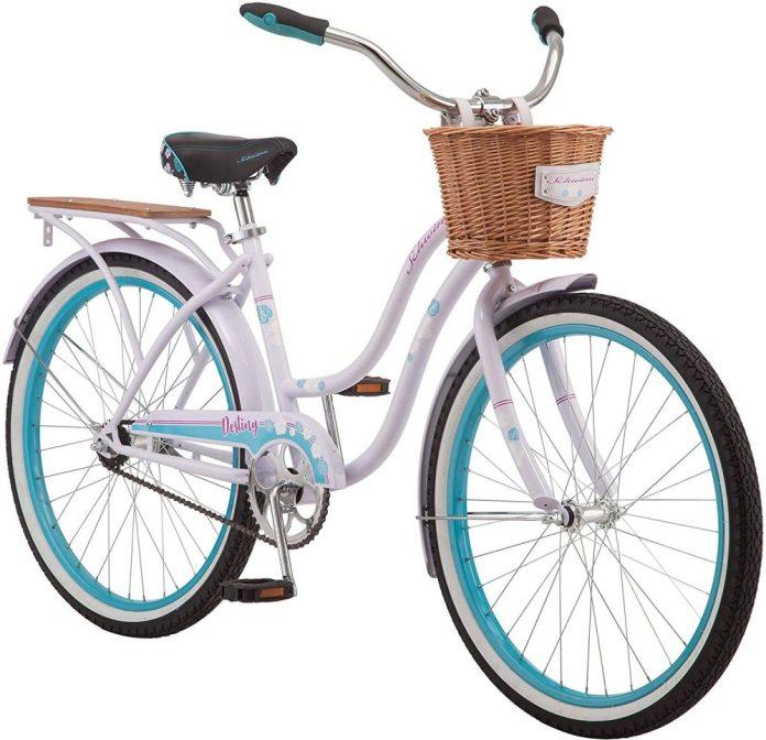 Beach Cruiser Bikes with Basket
